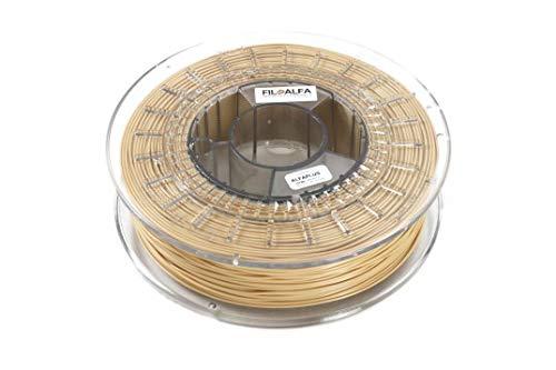 Filamento FiloAlfa - PLA/PLA AlfaPlus per stampanti 3D - 1.75 mm - 700 gr. (Crema, PLA Alfaplus)