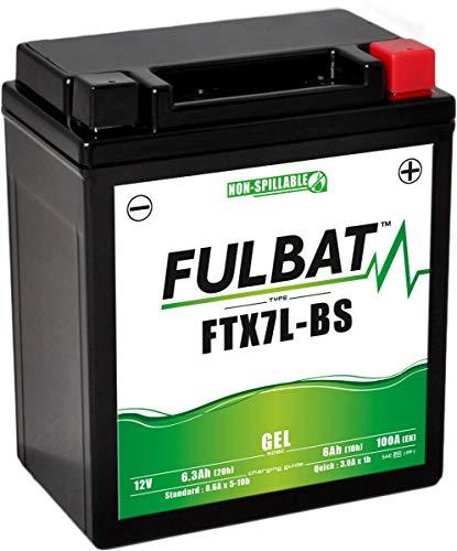 Fulbat - Motorrad Batterie Gel YTX7L-BS/FTX7L-BS 12V 6Ah