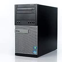 Dell Flagship Optiplex 9020 Tower Premium Business Desktop Computer (Intel Quad-Core i7-4770 up to 3.9GHz, 8GB RAM, 128GB SSD + 3TB HDD, DVD, WiFi, Windows 10 Professional) (Renewed)