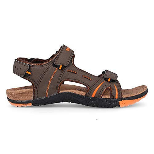Sandalia Soft Marron Paredes IFATY - Velcro - Talla 43