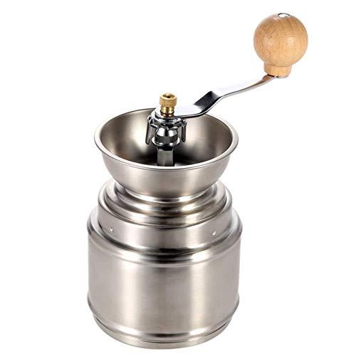 Draagbare handmatige koffiemolen met verstelbare keramische braam Roestvrijstalen koffieboon Pepermolen Tool Delicaat huishouden, reizen Voor het maken van DIY-creatie