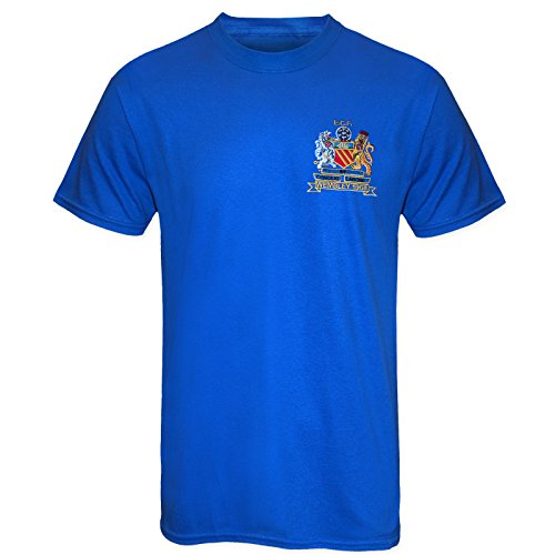Football Legend Bobby Charlton in Manchester United 1968 Retro Kit T-Shirt XL