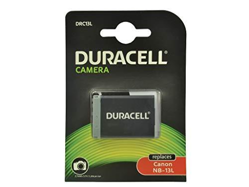 Duracell DRC13L Batteria ricaricabile agli Ioni di Litio 1010 mAh 3.7 V - Batterie ricaricabili (1010 mAh, 3 Wh, Ioni di Litio 3.7 V, Nero, 1 Pezzo
