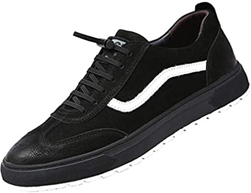 Oudan Oudan Oudan Herren Freizeitschuhe Mode Retro Turnschuhe Jugend Board Schuhe (Farbe   Schwarz Größe   42EU)  faire Preise