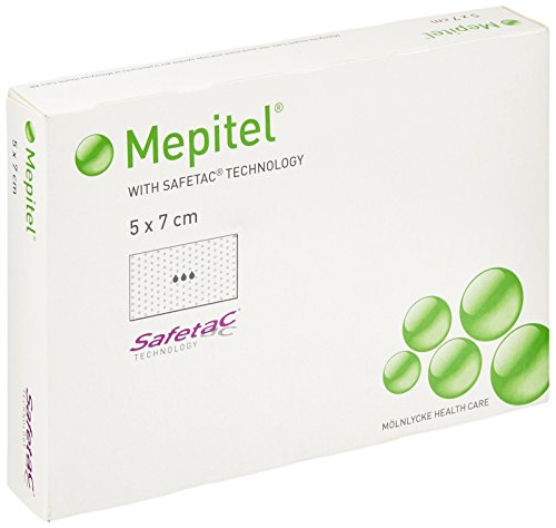 Mepitel 290500 kontakter, steril, 5 cm x 7 cm (5-pack)