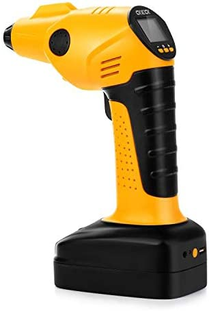 CKIECK Cordless Rechargeable Free shipping anywhere in the nation Tire Portable Air Inflator Battery Max 46% OFF