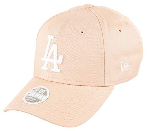 New Era Los Angeles Dodgers MLB Cap 9forty Baseball Damen Verstellbar Rosa Weiss - One-Size