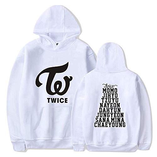 Sudadera con capucha para miembros de Kpop-TWICE, sudadera unisex utilizada para apoyar TWICE Music Fans Gift