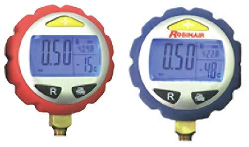 GASMOBE Manómetro digital baja multiescala Rango medición/