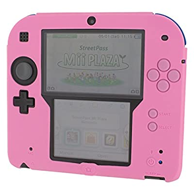 ZedLabz soft silicone gel protective cover rubber bumper case for Nintendo 2D...
