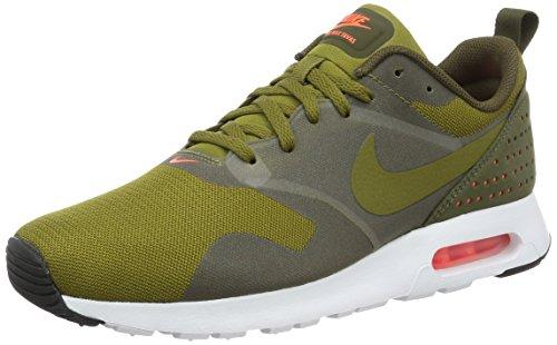 Nike Air Max Tavas - Scarpe da Corsa, Uomo, Colore Verde (Olive Flak/Olive Flak-Dark Loden-White), Taglia 40