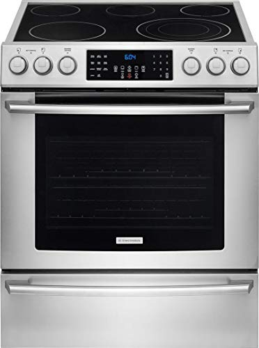 Electrolux EI30EF45QSIQ-Touch 30' Stainless Steel Electric Slide-In Smoothtop Range -...