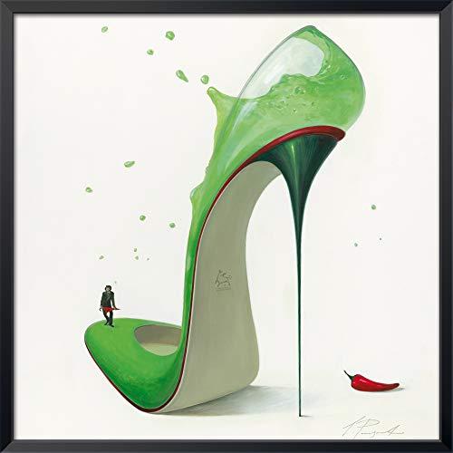 International Graphics – ingelijste kunstdrukken – Panasenko, Inna – 'Hot Margarita – 31 x 31 cm – Serie ATHOS