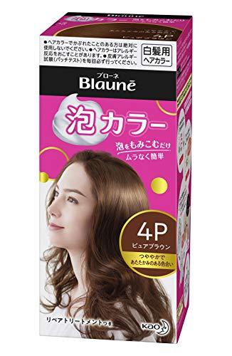 ブローネ泡カラー 4P ピュアブラウン 医薬部外品
