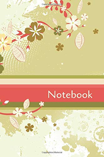 Notebook: Colorful Notebook Cute Flower Book Perfect for Gifts 6x9