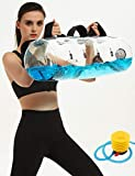 AquaBag Aqua Bag Water Sandbag Kettlebell/Fitness Tube/Bulgerian Alternative, Water Fillable Ruck Weights Workout, Heavy Duty Portable Training Equipment Rogue Exersize Equipt