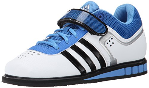 adidas Performance Men's Powerlift.2 Trainer Shoe,White/Black/Bright Royal,8 M US