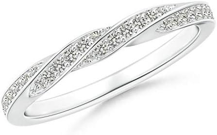 President's Day Kansas City Mall Sale - PavÃ-Set We Half Price reduction Diamond Twisted Eternity