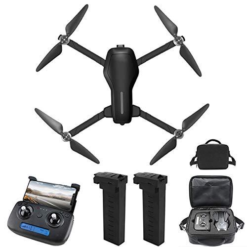 RC Drone con cámara 4K, Drone para Principiantes, Posicionamiento de Flujo óptico, Fotografía de Gestos con Las Manos, Vuelo de Ruta, Modo MV, Vuelo de 26 Minutos, 2 Baterías