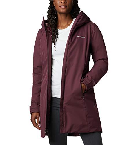 Columbia Damska kurtka jesienna w stylu Mid Jacket jesienny stan średnia kurtka Malbec L