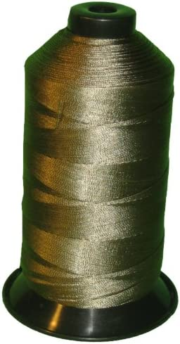 Dark Olive SHK Bonded Nylon Thread