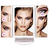 Makeup Mirror with Lights - Various Lighting Modes, 36 LED Trifold Mirror, Touch