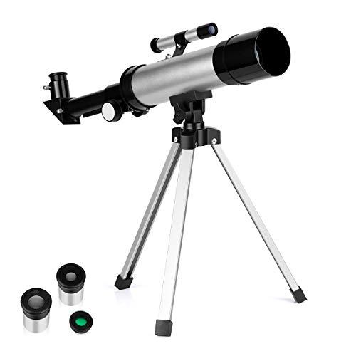 Telescope for Kids Telescopes for Astronomy Beginners Capable of 90x...