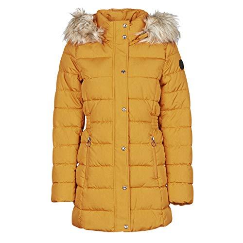 Bestseller ONLLUNA Quilted Coat CC OTW, orange(pumpkinsp (206431001)), Gr. XL