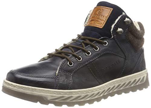 bugatti Herren 321794513200 Hohe Sneaker, Blau, 42 EU
