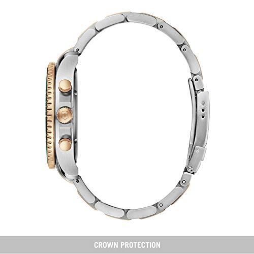 Victorinox 241693 Montre bracelet homme Acier inoxydable Bicolore