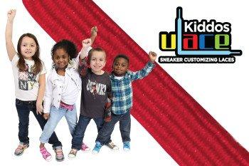 U-LACE - KIDDOS Lacets élastiques pour enfants de 3 à 7 ans - 14 Couleurs disponibles (SCARLET - Rouge) ATTENTION: 2 sachets au minimum pour une paire de baskets. Comptez bien les oeillets!
