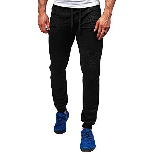 MINIKIMI heren broek jeansbroek stretch jogger sportbroek chino jeans broek slim fit joggingbroek met strepen trainingsbroek sweatpants