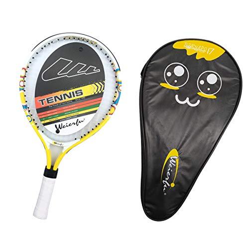 Weierfu Junior Tennis Racket for Kids Toddlers Starter Racket 17 with Cover Bag Light Weight(Strung)
