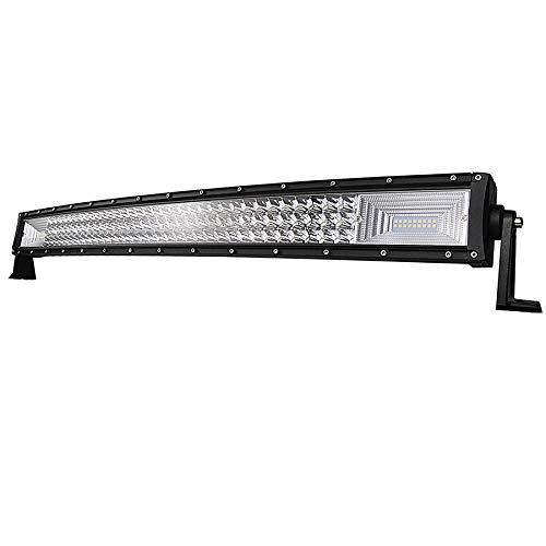 SKYWORLD Barras de luz LED curvadas, 32 pulgadas 81.28 cm 405W Combinación...
