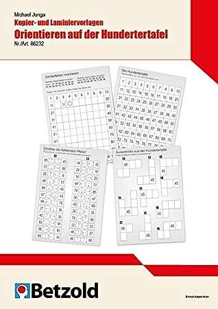 Unterrichtsmaterial Hundertertafel / Hunderterfeld