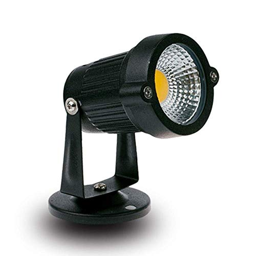 Faretti a LED 3W5W Faretti per esterni a LED per esterni Decking Patios Round Garden a inserti per alberi interrati Impermeabili IP65 (Color : White light-5W)