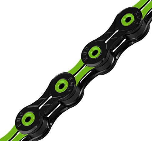 KMC X10SL 10-Fach Kette, Unisex, grün