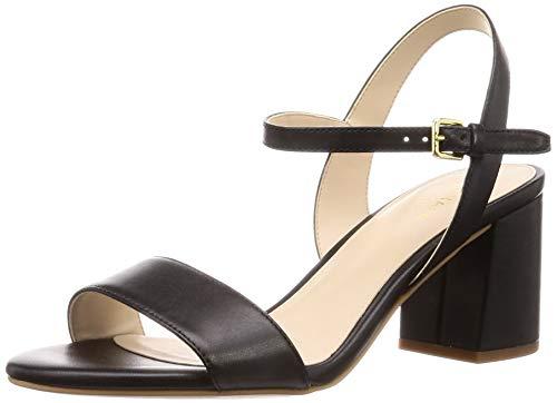 Cole Haan womens JOSIE BLOCK HEEL SANDAL (65MM),Black Leather,9 M US