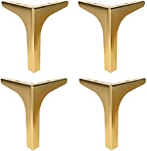 4 stks metalen meubels benen, driehoek diamant sofa benenDIY vervangbare tafelpoten, tv-kast bed bank badkamer kast salont...