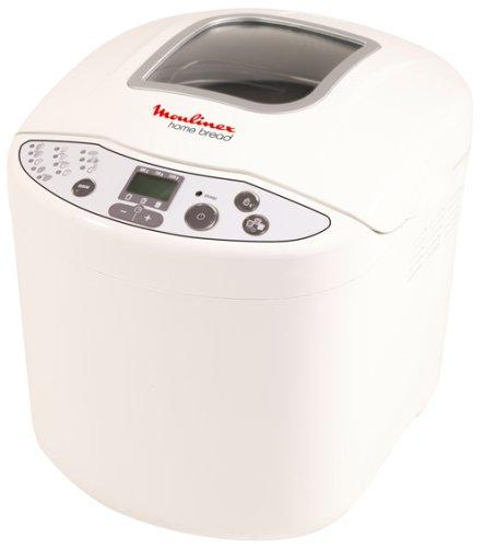 Moulinex W200030 - Panificadora (Blanco, 1 kg, 610 W)