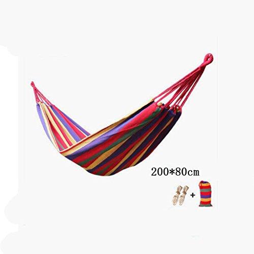 Hamac, hamac, hamac, hamac (sac de rangement * 1, corde * 2), (200 * 80cm)