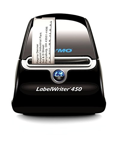 DYMO 32895 Label Writer 450 Imprimante étiquette 600 x 300 dpi Intensif 51 étiquettes 4 Lignes 654 g 127 x 187 x 134 mm Assorties