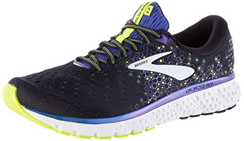 Brooks Men's Running Shoes, Black Black Blue Nightlife 069, Womens 12