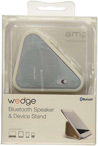 Antec AMP Keilhalterung HIFIBluetooth Batterie 400mAh 100-18kHz 3Watt PC-Lautsprecher weiß