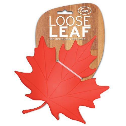 Loose Leaf Doorstop/Red