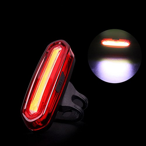 Fengyuanhong Deemount 100 LM USB Recargable COB LED luz Trasera de Bicicletas de montaña de la Cola del Bulbo de Seguridad MTB Bicicleta de Alerta lámpara de luz Trasera