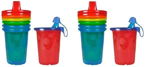 The First Years Take & Toss étanche Sippy Tasses, 283,5 gram – 8 fils