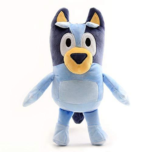 Ruiodr Anime Bingo Peluches Muñeca Peluche Perros Lindos Y Encantadores Juguete Animales De Peluche Suaves Juguetes para Niños Regalos para Niños 28Cm 28Cm Azul