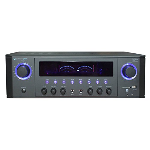 Technical Pro RX38UR Professional Receiver with USB & SD Card Inputs
