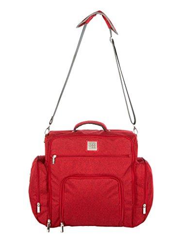 Mee Mee Stylish Multi-Function Diaper Bag (Backpack-Style, Maroon)